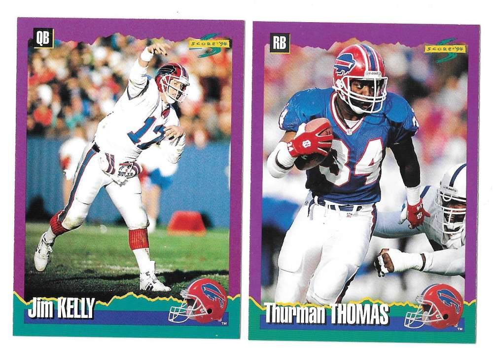 1994 Score Football Team Set - BUFFALO BILLS