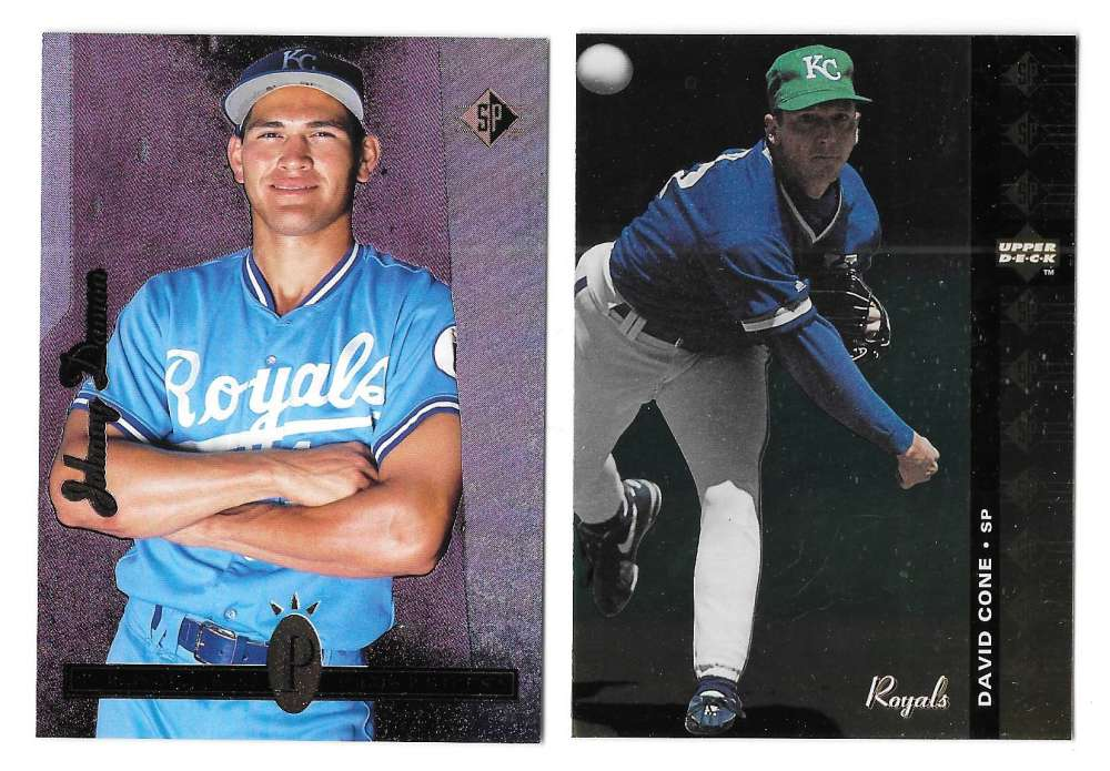 1994 SP (Upper Deck) - KANSAS CITY ROYALS Team Set