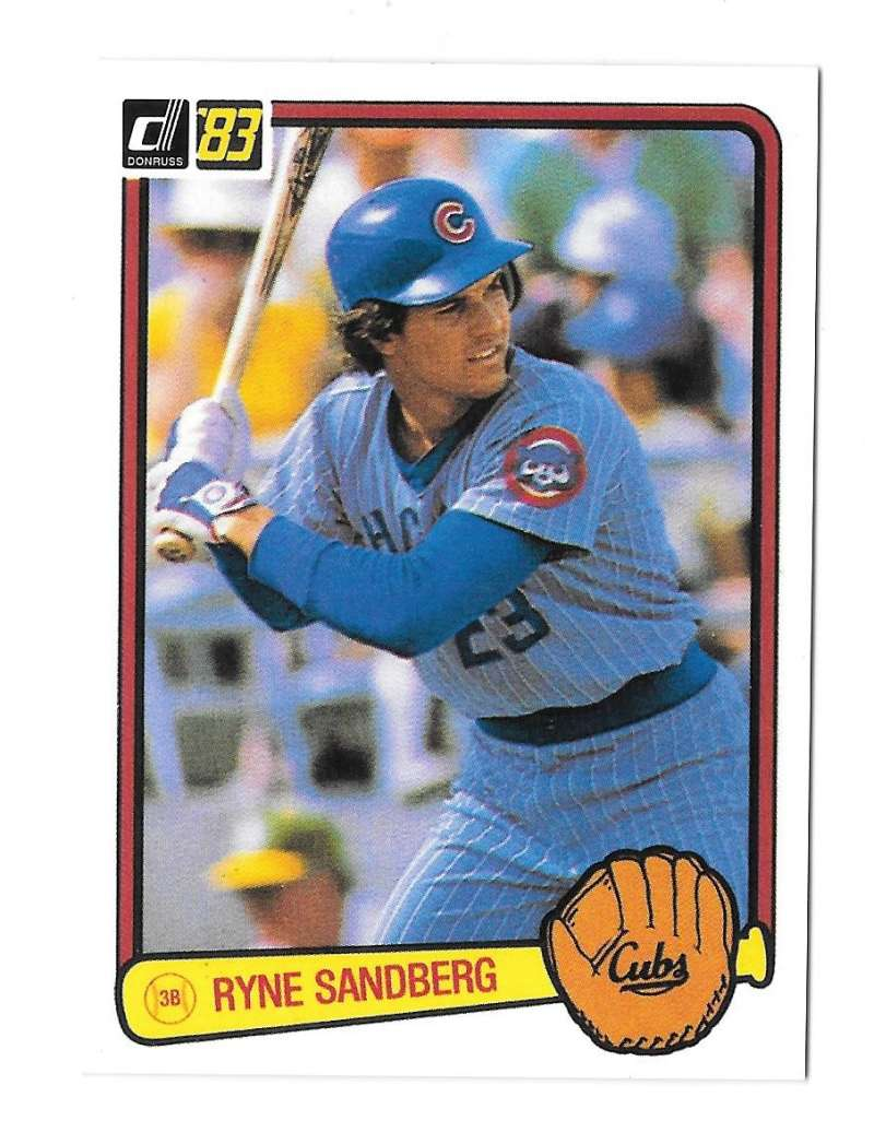 2003 Donruss Anniversary '83 - CHICAGO CUBS