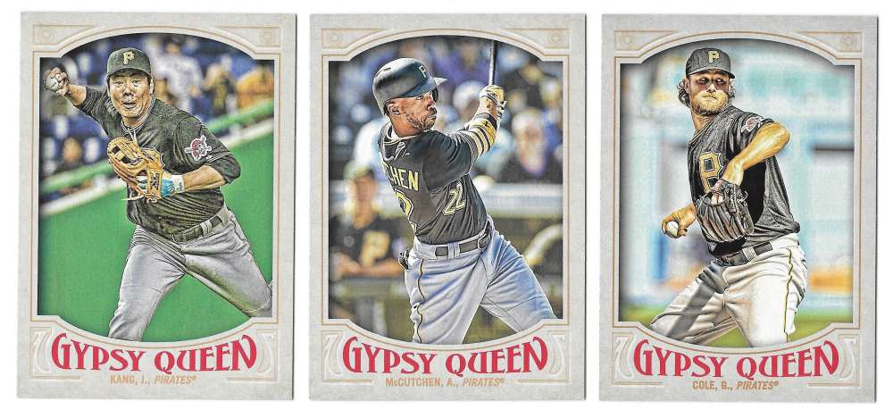 2016 Topps Gypsy Queen (Base) - PITTSBURGH PIRATES Team Set