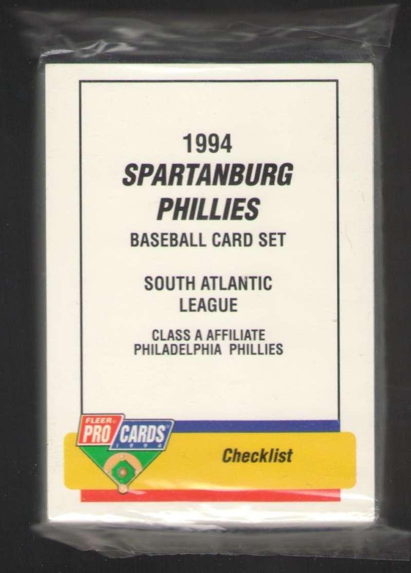 1994 ProCards / Fleer Team Set - Spartanburg PHILLIES (Scott Rolen)