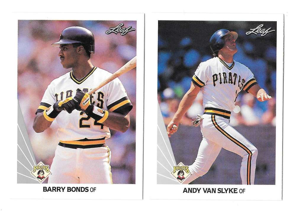 1990 LEAF - PITTSBURGH PIRATES Team Set