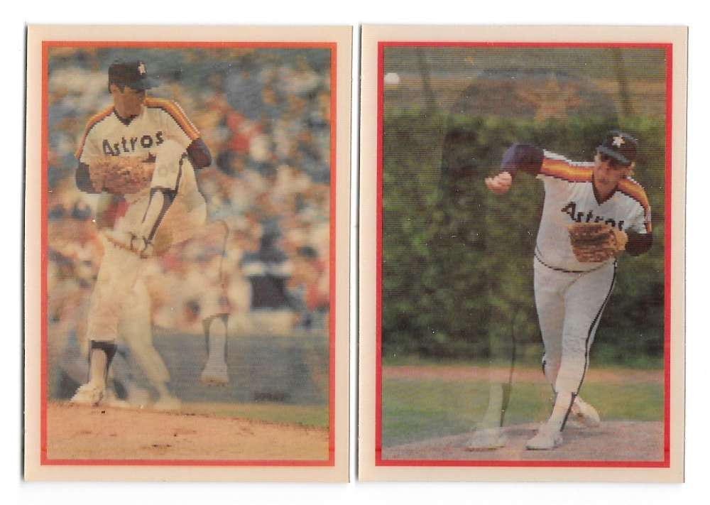 1987 SportFlics - HOUSTON ASTROS Team Set