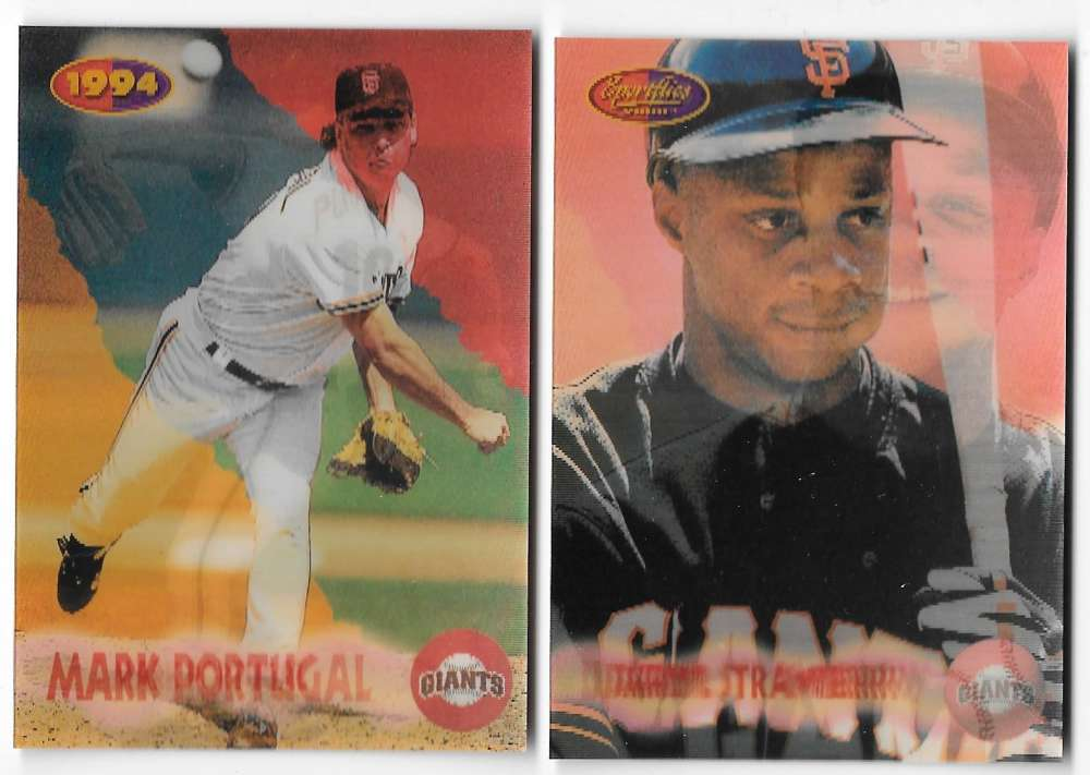 1994 Sportflics Rookie and Traded - SAN FRANCISCO GIANTS Team Set