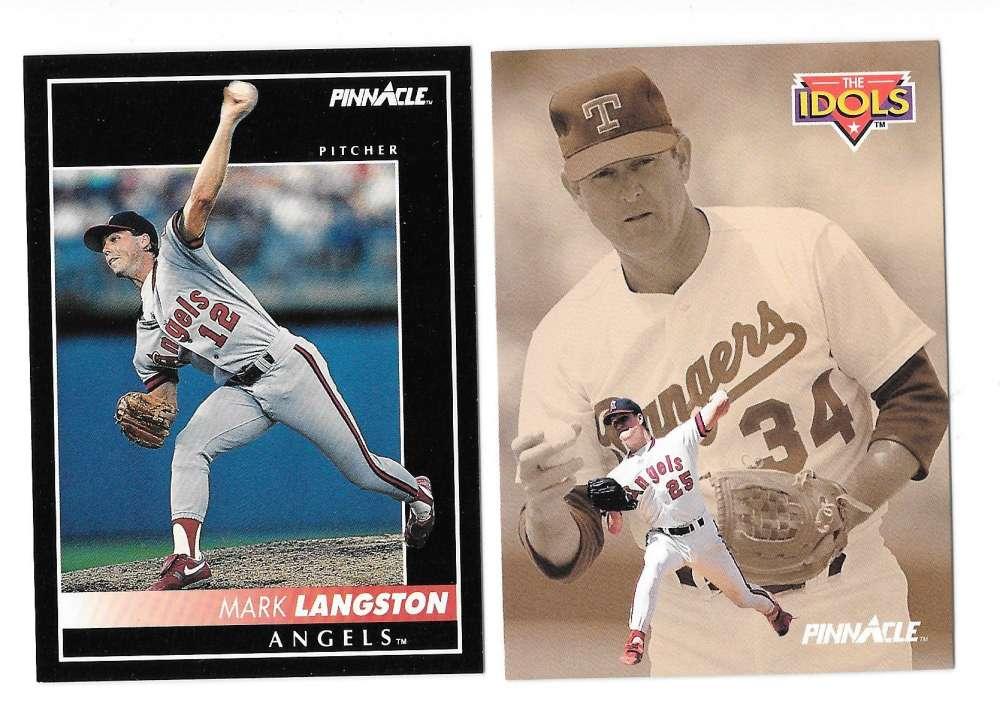 1992 PINNACLE - CALIFORNIA ANGELS Team Set