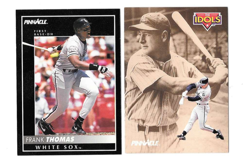 1992 PINNACLE - CHICAGO WHITE SOX Team Set
