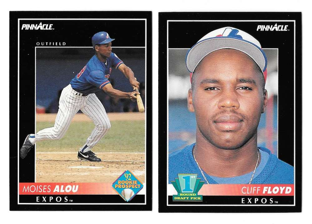1992 Pinnacle - MONTREAL EXPOS Team Set