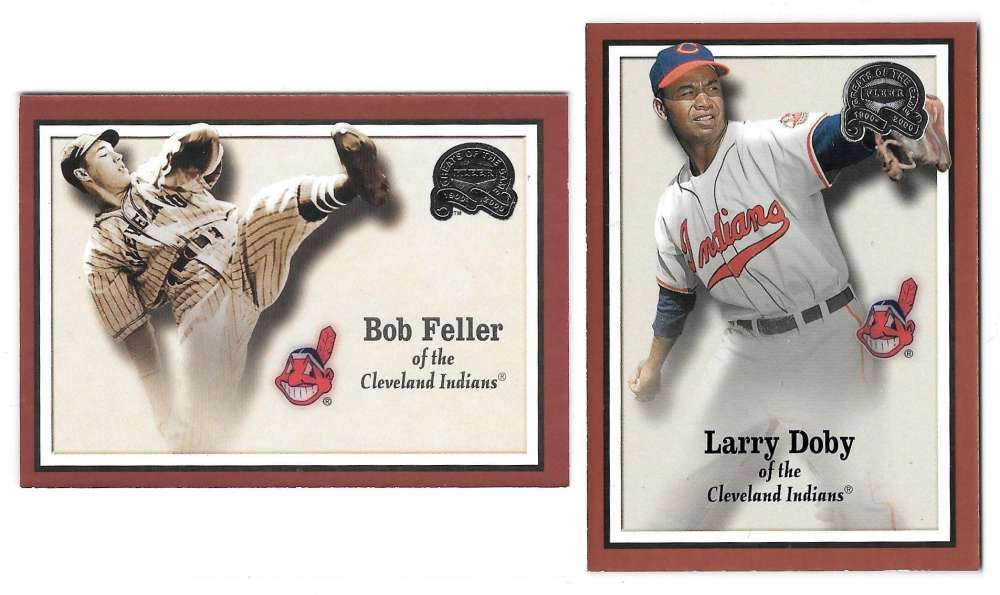 2000 Fleer Greats of the Game - CLEVELAND INDIANS Team Set
