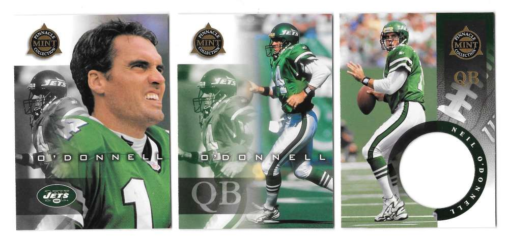 1998 Pinnacle Mint Football Team Set - NEW YORK JETS