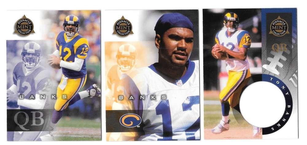 1998 Pinnacle Mint Football Team Set - ST. LOUIS RAMS