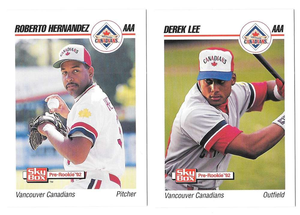 1992 Skybox (Minors) AAA - CHICAGO WHITE SOX Team Set
