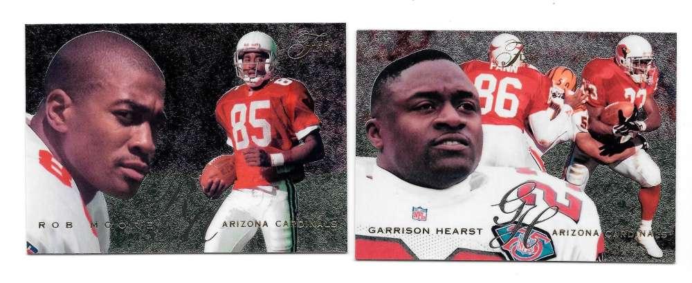 1995 Flair Football Team Set - ARIZONA CARDINALS