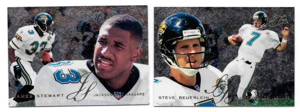 1995 Flair Football Team Set - JACKSONVILLE JAGUARS