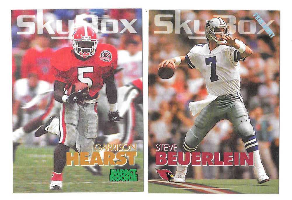 1993 SkyBox Impact Football Team Set - PHOENIX CARDINALS