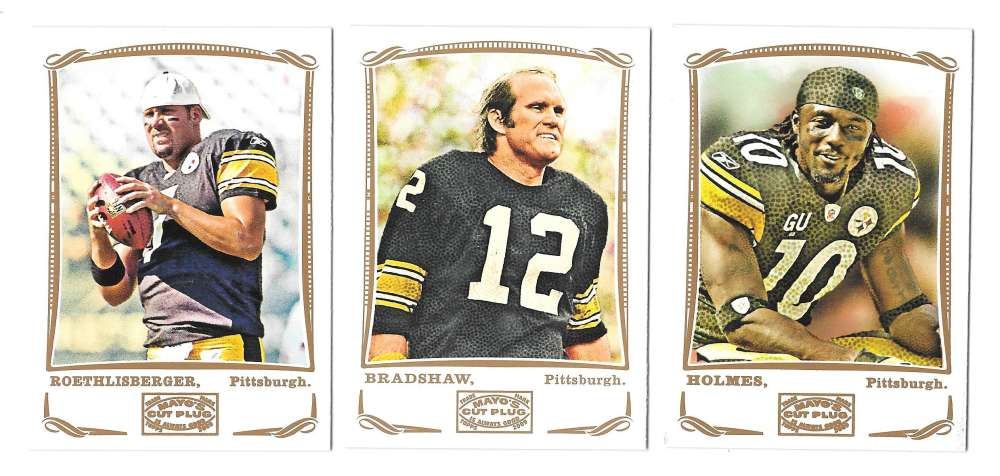 2009 Topps Mayo 1-330 Football Team Set - PITTSBURGH STEELERS