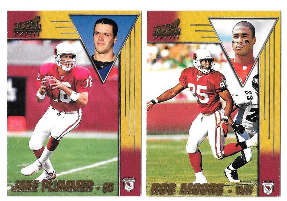 1998 Pacific Aurora Football Team Set - ARIZONA CARDINALS
