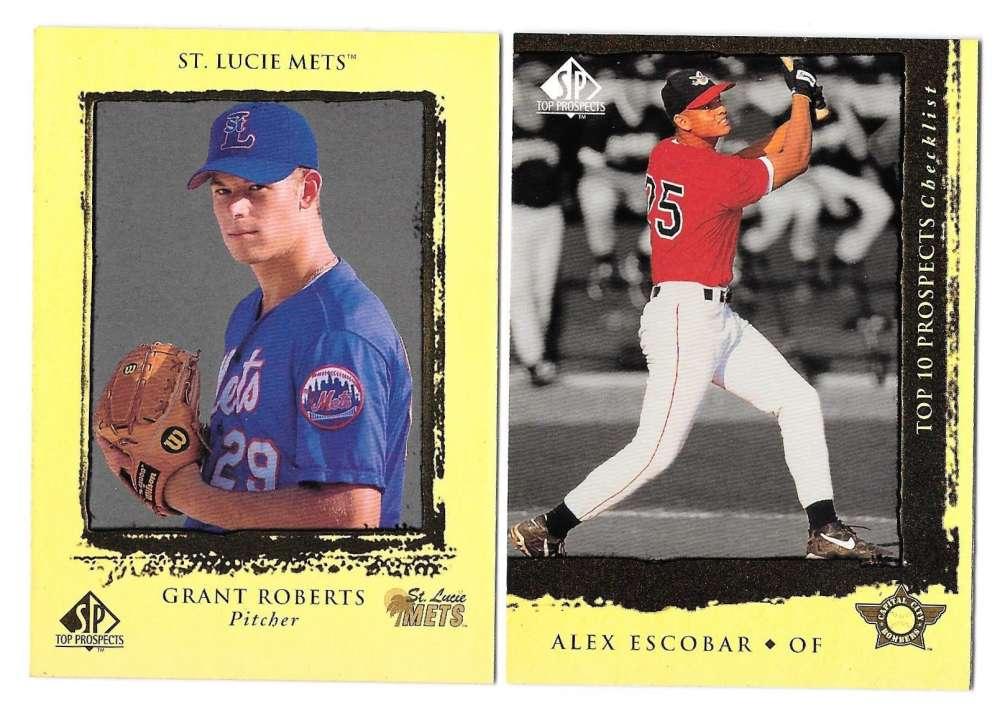 1999 SP Top Prospects (Minors) - NEW YORK METS Team Set