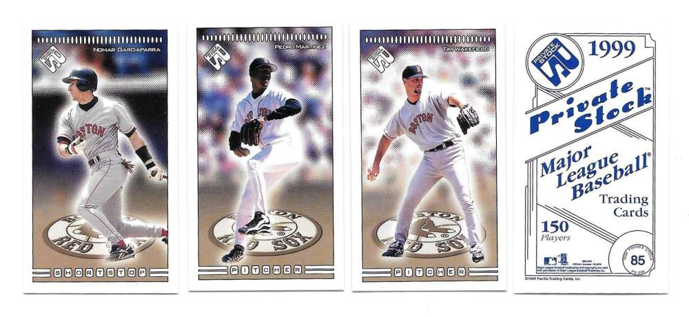 1999 Pacific Private Stock PS-206 - BOSTON RED SOX Team Set