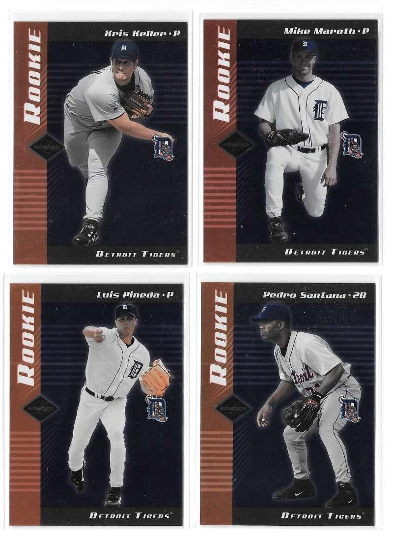 2001 Leaf Limited (1-150, 201-300) - DETROIT TIGERS Team Set