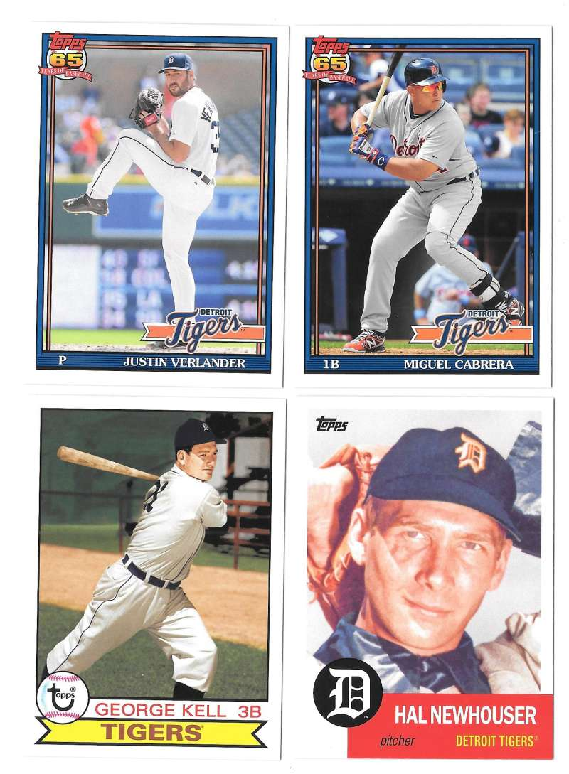 2016 Topps Archives - DETROIT TIGERS Team Set