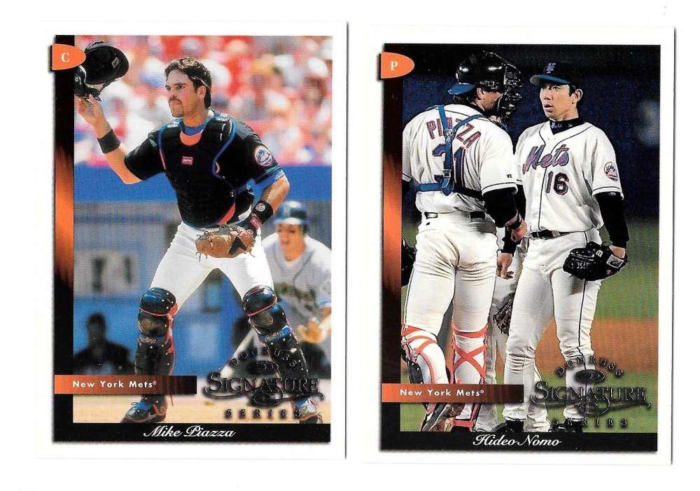 1998 Donruss Signature - NEW YORK METS Team Set