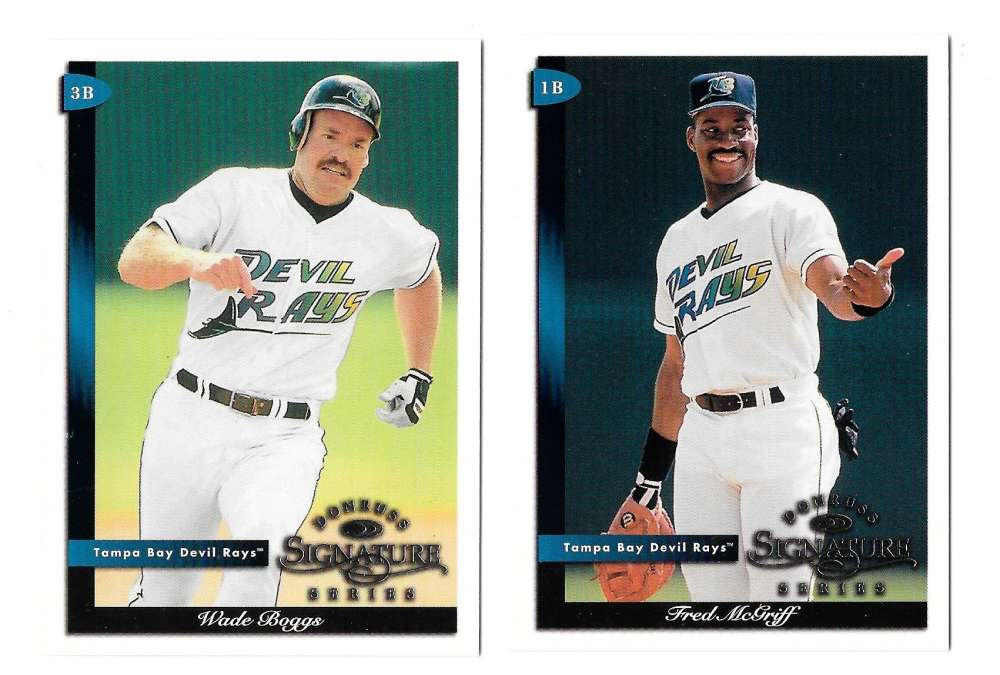 1998 Donruss Signature - TAMPA BAY DEVIL RAYS Team Set