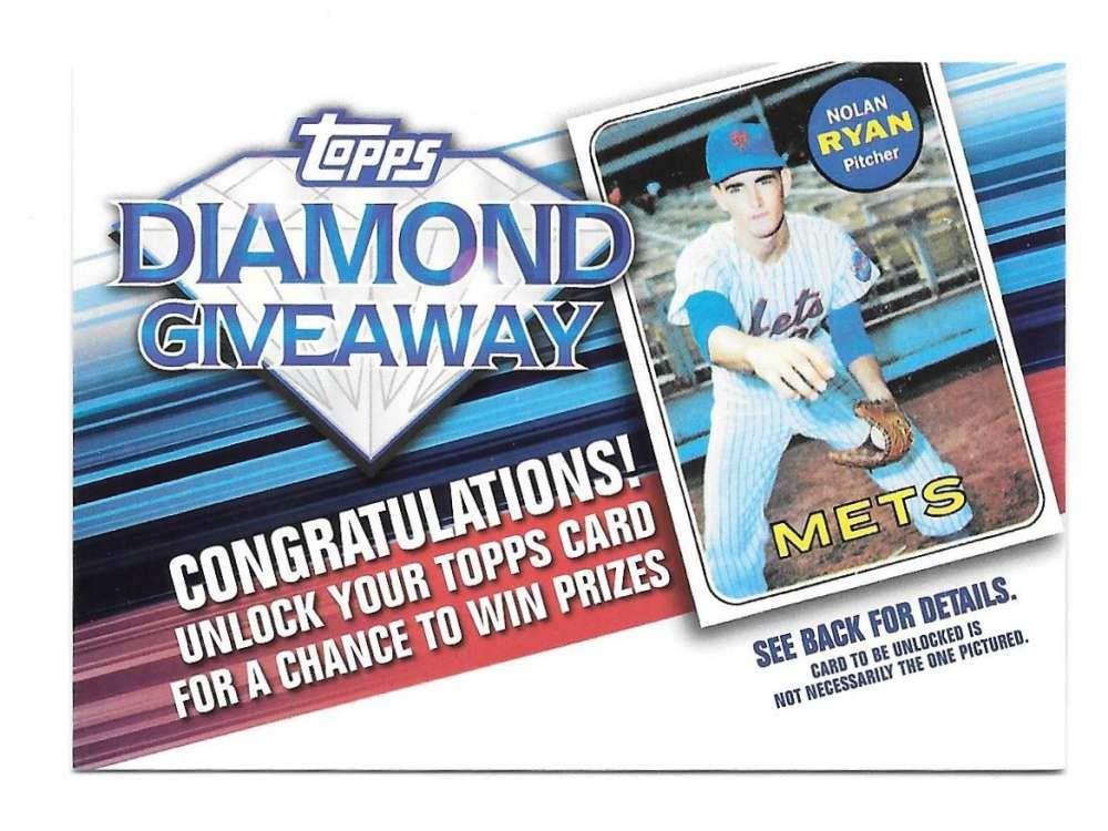 2011 Topps Diamond Giveaway - NEW YORK METS