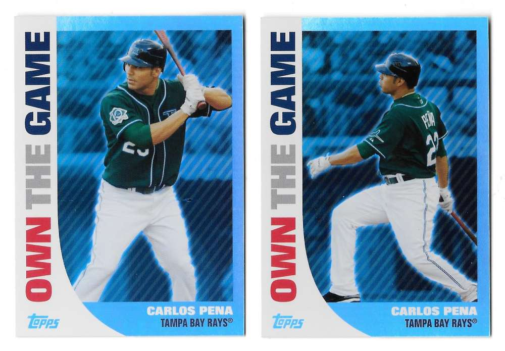 2008 Topps Own the Game - TAMPA BAY RAYS Team Set