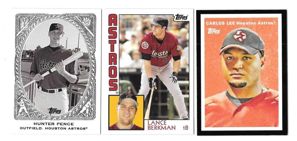 2008 Topps Trading Card History - HOUSTON ASTROS Team set
