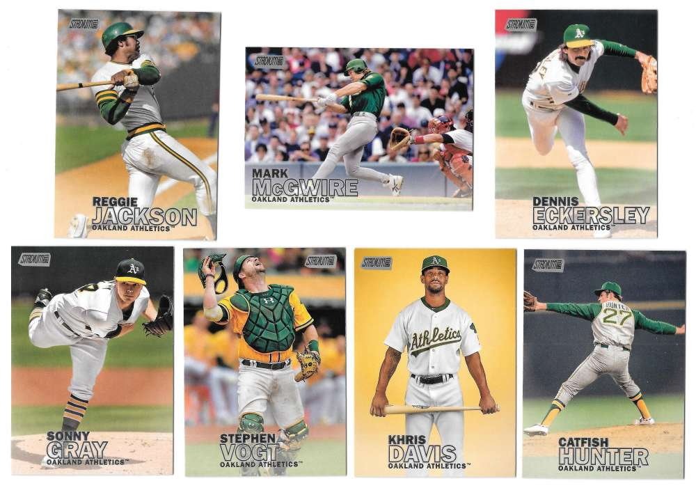 2016 Topps Stadium Club - OAKLAND As Team set