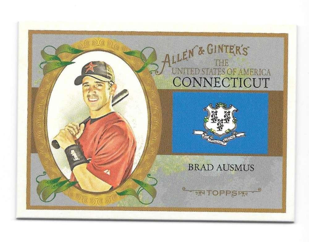 2008 Topps Allen and Ginter States - HOUSTON ASTROS