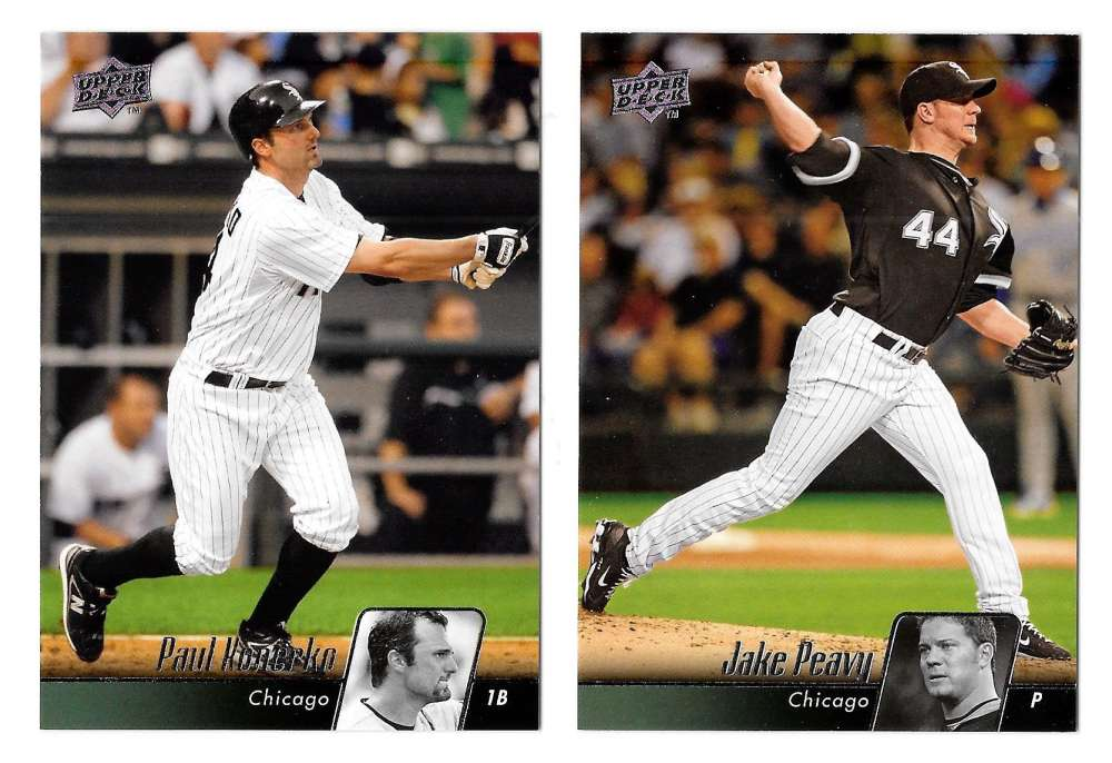 2010 UPPER DECK - CHICAGO WHITE SOX Team Set