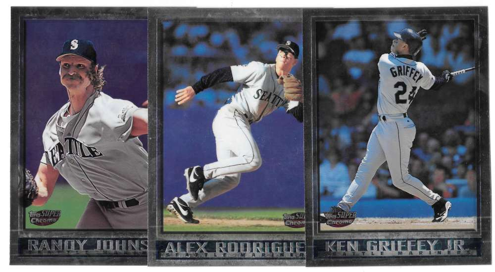 1998 Topps SuperChrome - SEATTLE MARINERS Team Set