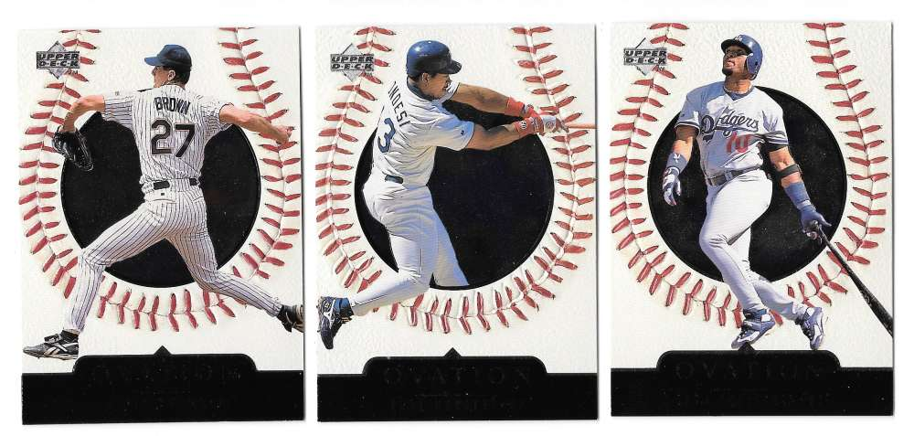 1999 Upper Deck Ovation (1-60) - LOS ANGELES DODGERS Team Set