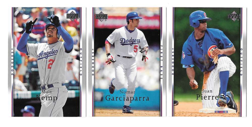 2007 Upper Deck - LOS ANGELES DODGERS Team Set