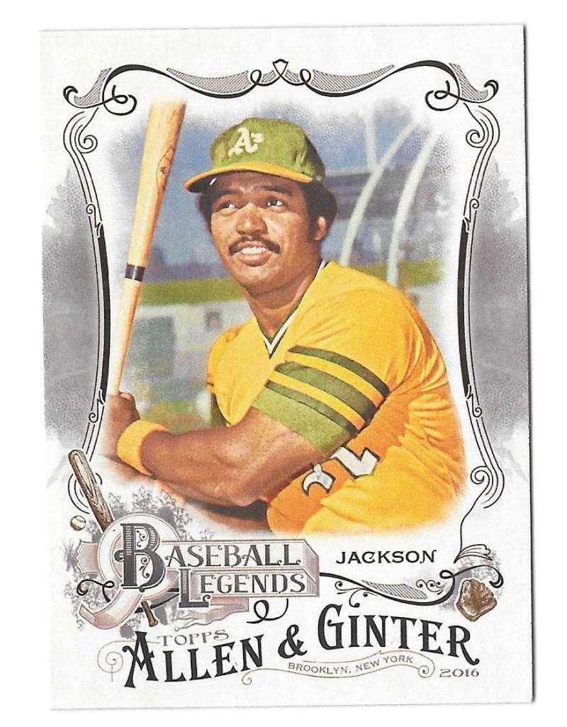 2016 Topps Allen and Ginter Baseball Legends - OAKLAND As