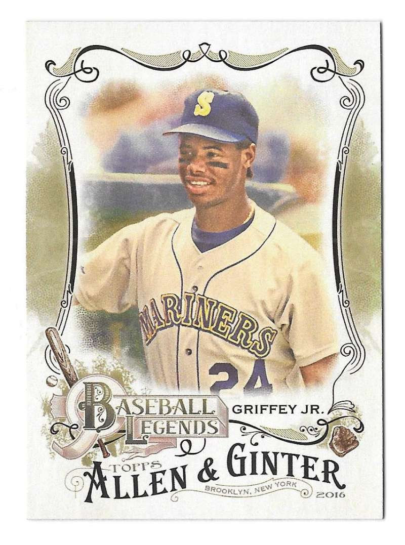 2016 Topps Allen and Ginter Baseball Legends - SEATTLE MARINERS