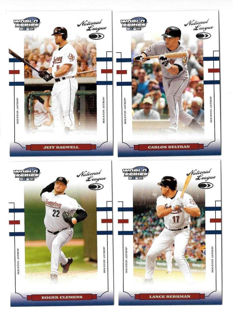 2004 Donruss World Series - HOUSTON ASTROS Team Set