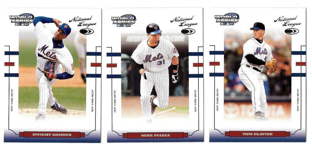 2004 Donruss World Series - NEW YORK METS Team Set