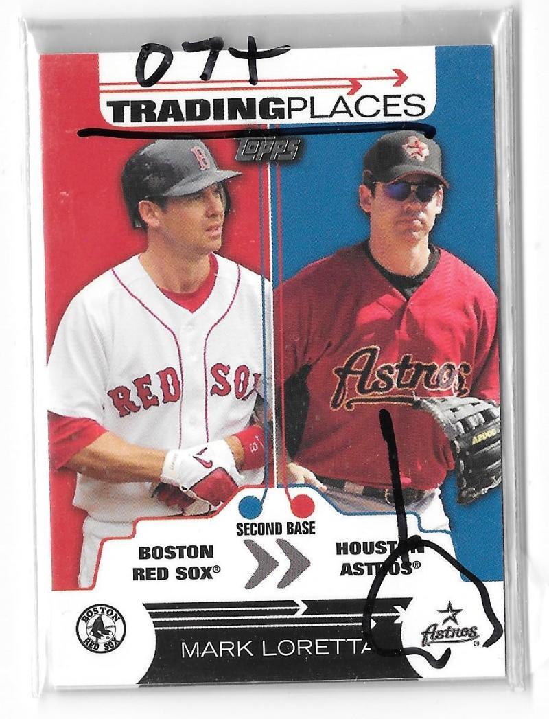 2007 Topps Trading Places - HOUSTON ASTROS Team Set