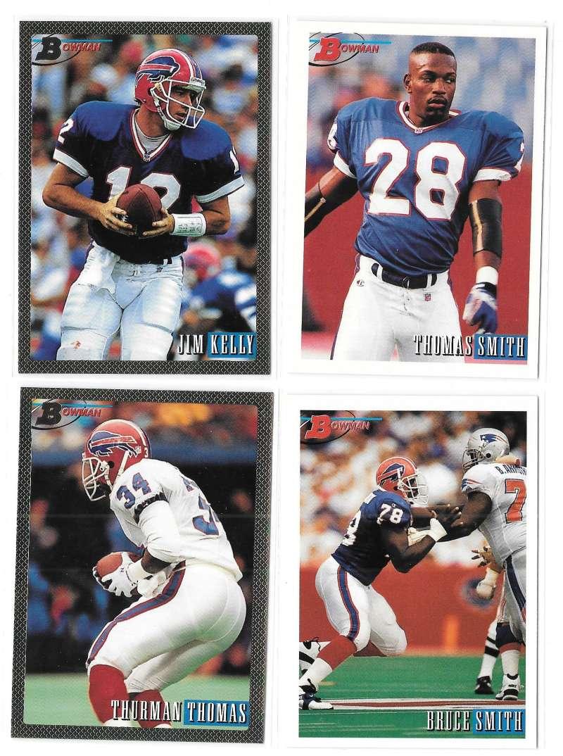1993 Bowman Football Team Set - BUFFALO BILLS