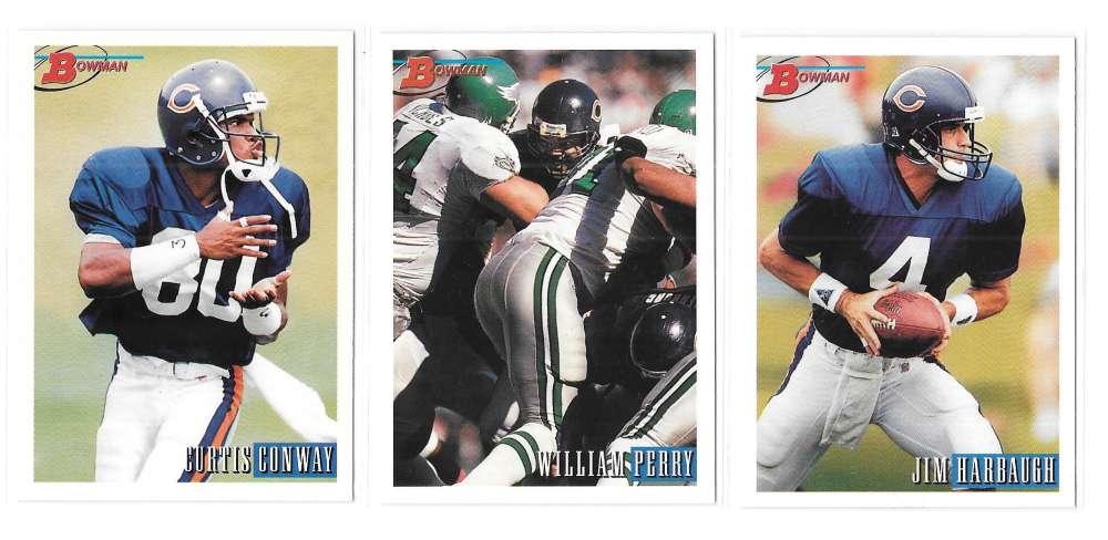 1993 Bowman Football Team Set - CHICAGO BEARS