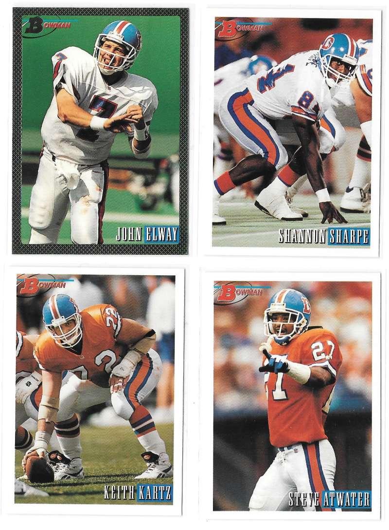 1993 Bowman Football Team Set - DENVER BRONCOS