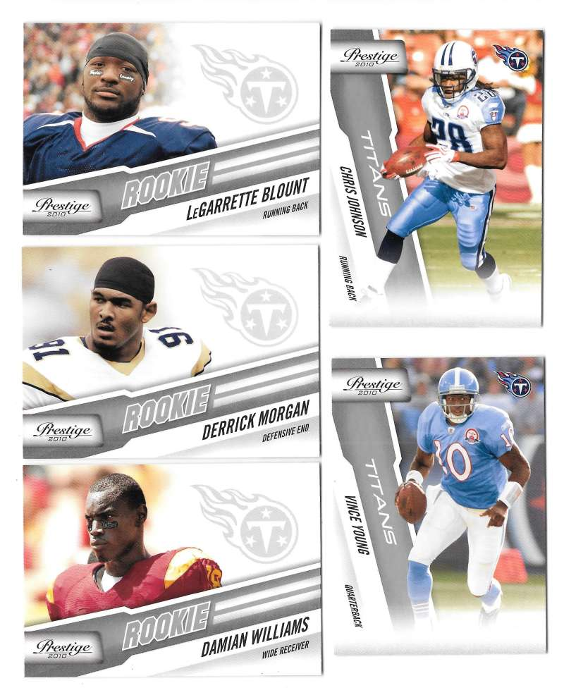 2010 Prestige Football Team Set (1-300) - TENNESSEE TITANS