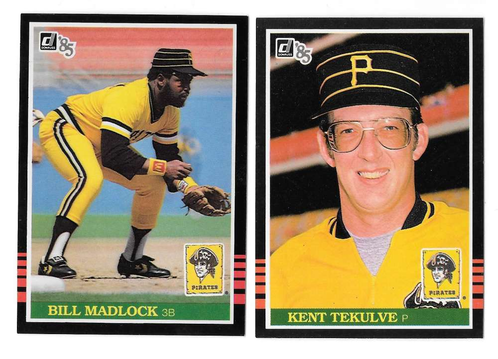 1985 DONRUSS - PITTSBURGH PIRATES Team Set