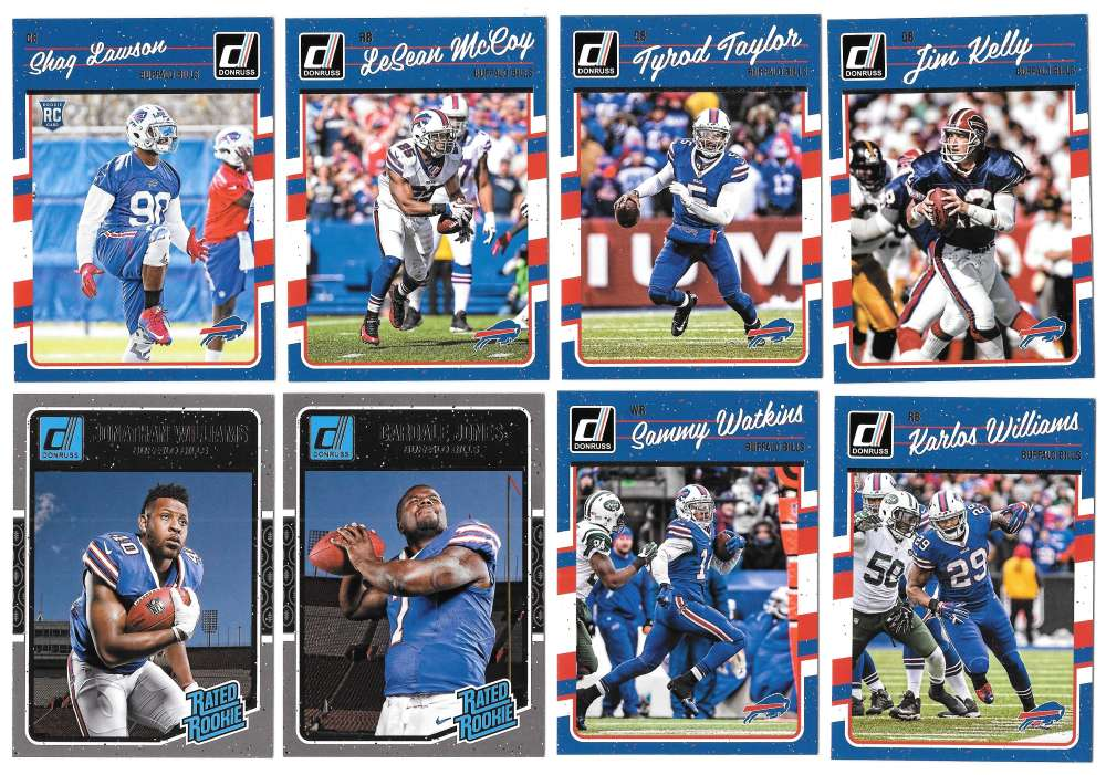 2016 Donruss Football (1-400) Team Set - BUFFALO BILLS