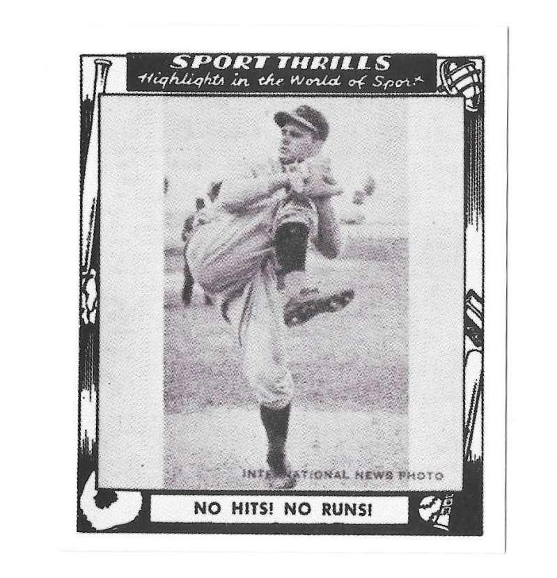 1948 Swell Sports Thrills Reprints - CINCINNATI REDS Team Set