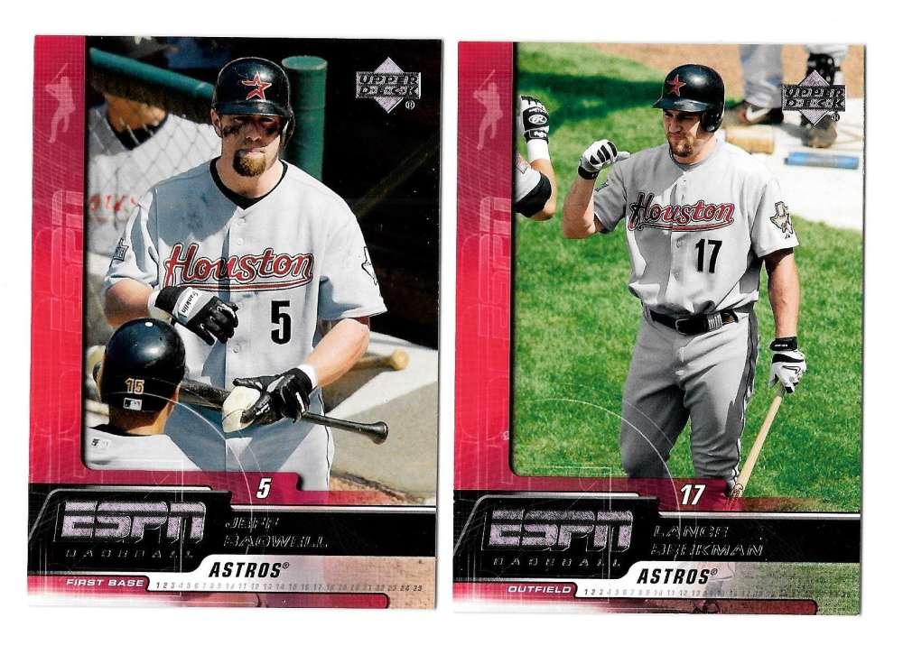 2005 Upper Deck ESPN - HOUSTON ASTROS Team Set