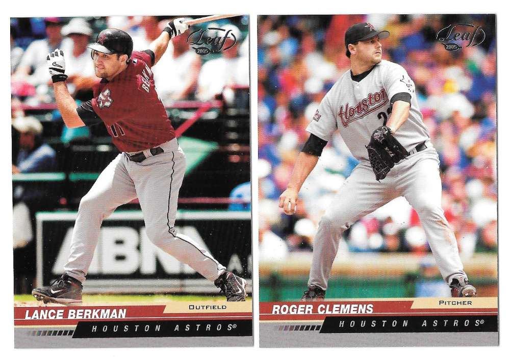 2005 Leaf (1-200 Base set) - HOUSTON ASTROS Team Set