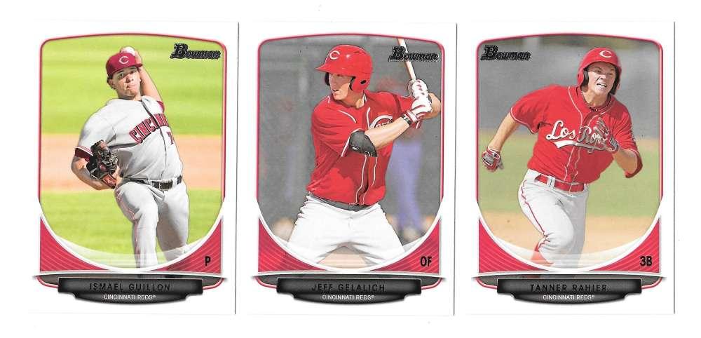 2013 Bowman Prospects - CINCINNATI REDS Team Set